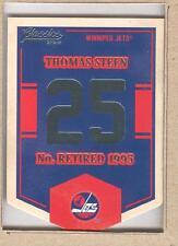 Thomas Steen EN71 2012-13 Classics Signatures Banner Numbers