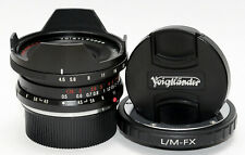 VOIGTLANDER 15mm f:4.5 SUPER WIDE HELIAR II Lens LEICA-M to FUJIFILM FX ADAPTER