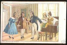 Sammler Lithographien mit dem Thema Musik