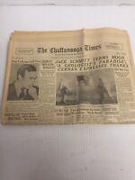 The Chattanooga Times Newspaper December 1972 Moonlanding
