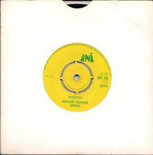 "Matthews Southern Comfort Woodstock All yellow label UK 45 7"" single +Scion"