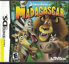Madagascar Nintendo Gameboy Advance Game DreamWorks Activision Rated E