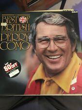 Perry Como Best Of British Vinyl LP