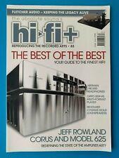 Hi-Fi+ Plus Magazine - Oct 2011 #83 - JEFF ROWLAND CORUS - OPPO BDP-95 - HiFiMAN