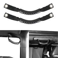 Rubber Rear Side Grab Handle Headrest handles fits 2007-2018 Jeep Wrangler JK