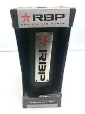 Rbp Rolling Big Power 303725 Exr Exhaust Tip Ex 1 Adjustable Multi Fit Black