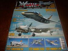 Wing Masters n° 38  Aviation Maquettes Histoire  nouveautes