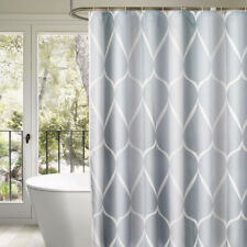70.8 inch Thickened Concise Polyester Shower Curtain Waterproof Bath Curtain,