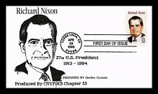 DR JIM STAMPS US RICHARD NIXON GEESEE LIMITED EDITION FIRST DAY COVER