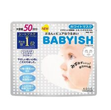 Kose Japan Clear Turn Babyish Whitening Face Mask (50sheets) Award No.1