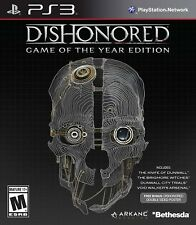 Dishonored Game Of The Year Edition PS3 - LN - Black Label