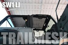2004-2006 Jeep Wrangler Unlimited LJ SpiderWebShade TrailMesh Bikini Top Black