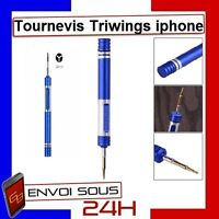 OUTIL TOURNEVIS iphone 8/7 TRI-WING X 10 AIMANTE IPHONE 7/7 PLUS  triwing outils