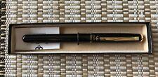 Pentel Excalibur RX15 Roller Ball Refillable Pen 0.35mm, black ink, black barrel