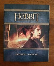 The Hobbit: The Motion Picture Trilogy - Extended Edition (Blu-ray, 2015)