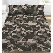 gris camouflage Set Housse de couette double enfants garçons literie