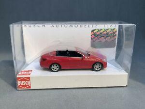 Busch Mercedes-Benz E-Class Cabriolet - HO 1/87 41670 - Red NIB