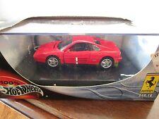 Hot Wheels 1/43 Diecast  Ferrari 348 TB Red In Box