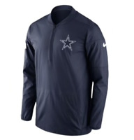 Dallas Cowboys Nike NFL Lockdown Jacket 1/2 Zip NWT Water Repellent Half Zip Top