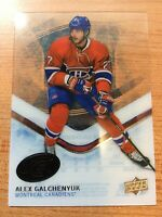 UPPERDECK ICE 2016-2017 ALEX GALCHENYUK CLEAR CUT HOCKEY CARD #90