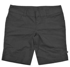 Oakley Coton Shorts pour Femmes Pantalon Chino Court Extensible Été Capri Noir M