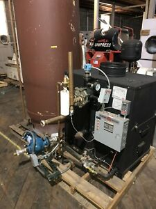 PARKER BOILER INDIRECT FIRED WATER HEATER WH730 With 500 Gal. Storage Tank