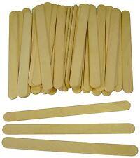 Major Brushes manualidades modelismo plano madera palitos de paleta paquete 200