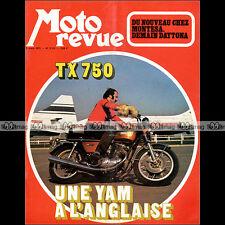 MOTO REVUE N°2115 MONTESA 250 CAPPRA ★ YAMAHA TX 750 TZ 350 CIAO C7 & C9 1973