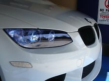 Pellicola fari Pellicola Colorata Blu 100x30cm BMW e60 e61 e91 e92 LUCE POSTERIORE
