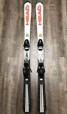 HEAD Supershape Team 137 Cm Youth Junior Downhill Skis W/ Tyrolia SL45 Bindings