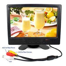"""7"""" LCD Monitor HDMI VGA 2AV Input support reversing 1280X800 ISP LCD Display"""
