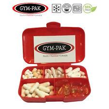 Supplemento CONTENITORE pillola casella (Heavy Duty ma veramente LEGGERA) gym-pak