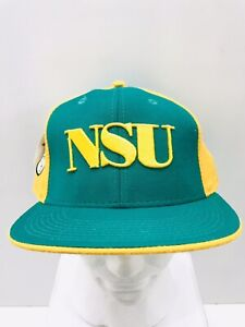 Norfolk State College Baseball Hat Cap NWT Headgear 100%Wool SZ 7 7/8 Fitted NEW