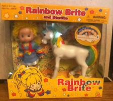 "NIP 2003 Rainbow Brite 4"" Doll with Starlite Horse"