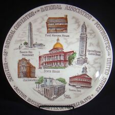 Vernon Kilns 1952 Souvenir National Association Of Postmasters Convention Plate