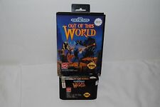 OUT OF THIS WORLD SEGA GENESIS GAME GOOD CONDITION
