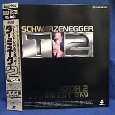 Terminator 2 Japan LD Laserdisc SDTV 4:3 Surround PILF-1376 Schwarzenegger