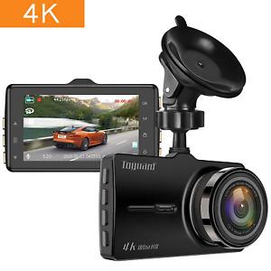 TOGUARD Dash cam 4K UHD Car Dash Camera 3'' LCD Dashboard Camera with 170°Wide