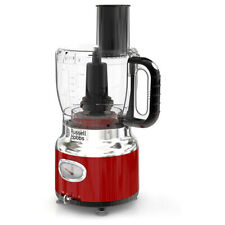Russell Hobbs Fp3100Rdr Retro Style 8 Cup Food Processor In Red