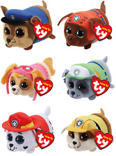 """Ty Beanie Boos 4"""" Teeny Tys Paw Patrol Stackable Assorted New 2018"""