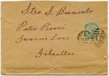 GIBRALTAR QV LOCAL 1/2d 1900 to PATIO PISANI GUNNERS LANE