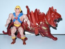 MOTU KO HE-MAN & BATTLE CAT 1990s MEXICAN BOOTLEG