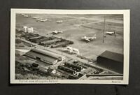 1952 Lagens Airfield Azores RPPC Airmail APO Cover to Bassier City LA