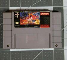 Super Nintendo Disney's Aladdin SNES 1993 Snes Tested