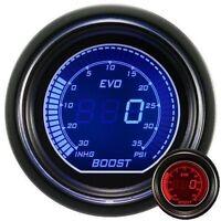52mm Autogauge EVO Series Digital Led Boost Gauge Red / Blue PSI