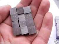 99.9% High Purity TANTALUM Ta Metal Carved Element Periodic Table 10mm Cube