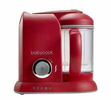 Beaba Babycook 4 in 1 Baby Food Processor Steam Cook MISCELA Red Warehouse