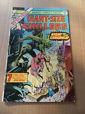Giant Size Chillers 3. Marvel 1975 - FN / VF