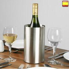 Enfriador de Botellas Vino champagne de Acero Inoxidable estilo y calidad