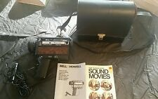 BELL AND HOWELL XL POWER ZOOM  MOVIE CAMERA MODEL 1225C 1978 WORKS GREAT!